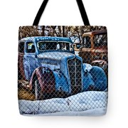 The Winter Of Existence Tote Bag