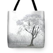 The Winter's Embrace Tote Bag
