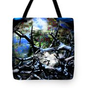 The Wizards Den Tote Bag