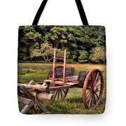 The Wooden Cart Tote Bag