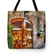 The Wooden Doorway Tote Bag
