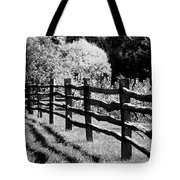 The Wooden Fence Tote Bag