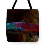 The Wooden Rainbow Trout Tote Bag