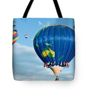 The World Aloft Tote Bag