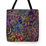 The World Largest Migraine Artwork Tote Bag