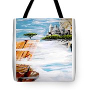 The World On A Platter  Tote Bag