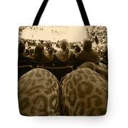 The World Thru Leopard Printed Pants Tote Bag