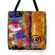 The Woven Stitch Cross Dance Tote Bag