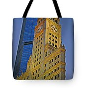 The Wrigley Building Tote Bag