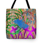 The Writing On The Wall 22 Tote Bag
