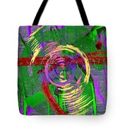 The Writing On The Wall 9 Tote Bag