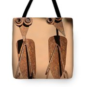 The Yard Birds Tote Bag