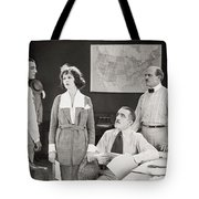 The Yelllow Typhoon, 1920 Tote Bag by Granger