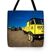 The Yellow Sentinel Tote Bag