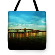 The York River Tote Bag by Bill Cannon