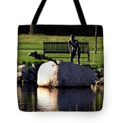 The Young Swimmers Tote Bag