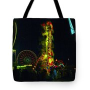 The Zipper  Tote Bag