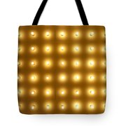 Theater Lights In Rows Tote Bag