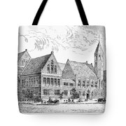 Theological Seminary, 1884 Tote Bag