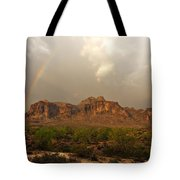 There's Gold At The End Of The Rainbow Tote Bag
