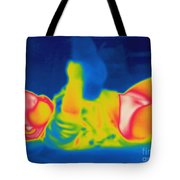Thermogram Of A Baby Tote Bag