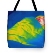 Thermogram Of A Child Sleeping Tote Bag