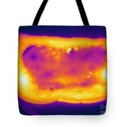 Thermogram Of A Hot Toast Tote Bag