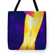 Thermogram Of A Legs Tote Bag