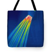 Thermogram Of A Shower Head Tote Bag