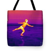 Thermogram Of A Skater Tote Bag