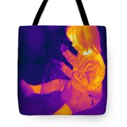 Thermogram Of A Young Girl Tote Bag