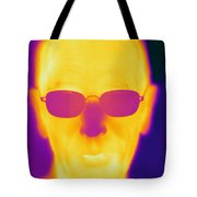 Thermogram Of An Elderly Man Tote Bag