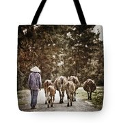 They Walk Together Tote Bag