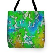 Thick Paint Tote Bag