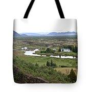 Thingvellir Valley Tote Bag