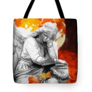 Thinking About Autumn Tote Bag