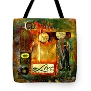 Thinking Of You With Love Tote Bag