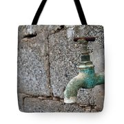 Thirsty Tote Bag by Stelios Kleanthous