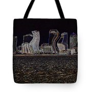 This City Is Rockin' Tote Bag