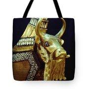 This Gilded Bull Originates Tote Bag