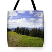 This Way To Eagle Nest - Vail Tote Bag