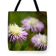 Thistle Illusion Tote Bag