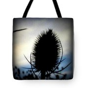 Thistle In The Sky Tote Bag