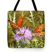 Thistlefly Tote Bag