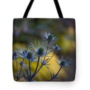 Thistles Abstract Tote Bag