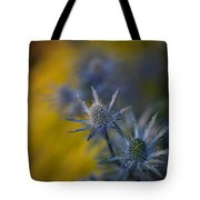 Thistles Motion Tote Bag