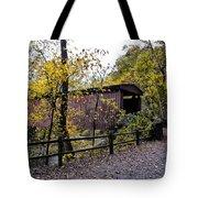 Thomas Mill Covered Bridge Over The Wissahickon Tote Bag