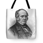 Thomas O. Larkin (1802-1858). American Merchant And California Pioneer. Wood Engraving, 19th Century Tote Bag