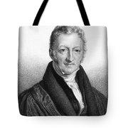Thomas Robert Malthus Tote Bag