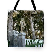 Thomas Thompson And His Parents Tote Bag